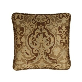 Austin Horn Classics Botticelli Brown 20-inch Luxury Pillow
