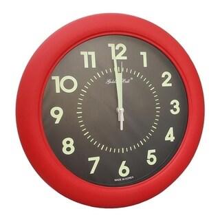 Goldenbell Backlit Wall Clock, 31cm in Diameter