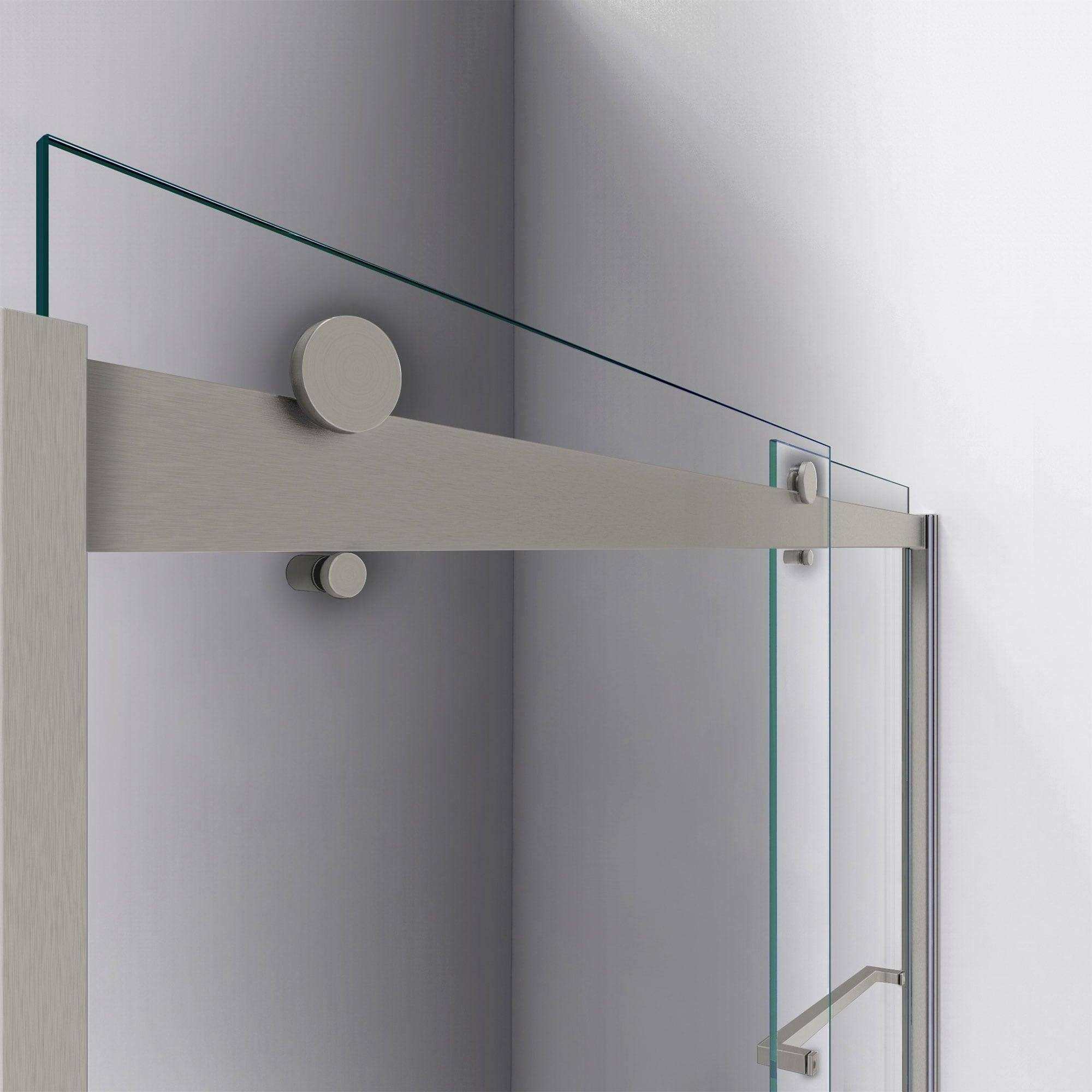 Dreamline Sapphire 56 60 In W X 76 In H Semi Frameless Bypass Shower Door 56 60 W