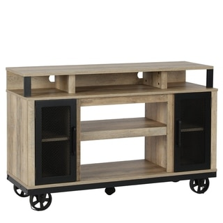Avenue Greene Highcroft Natural TV Stand for TVs up to 55 inch