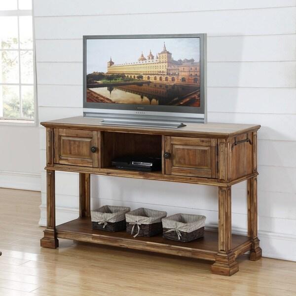 Carbon Loft Junius Rustic Acacia Sofa Table