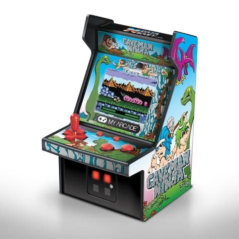 "MyArcade 6"" COLLECTIBLE RETRO CAVEMAN NINJA MICRO PLAYER"