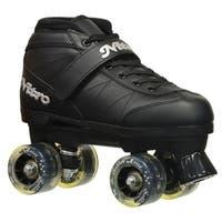Epic Super Nitro Light Up Quad Speed Skates w/ Smoke LED Wheels & 2 Pr. Laces