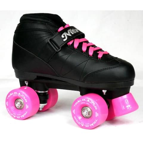 NEW CUSTOM Epic Super Nitro WICKED BERRY Black & Red Outdoor Quad Roller Skates