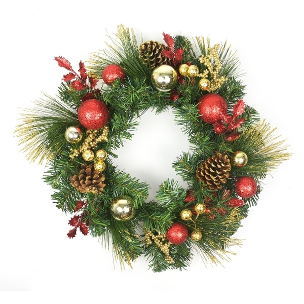 20 christmas decorated wreath