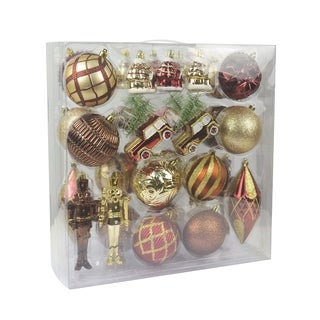 36 Pcs Mix Christmas Ornament