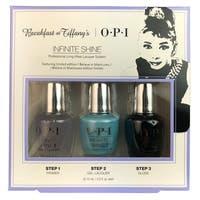 OPI Nail Lacquer Breakfast At Tiffany's Infinite Shine Trio Kit Holiday 2016