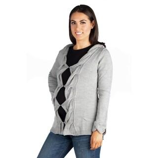 24/7 Comfort Apparel Maternity Cardigan Sweater