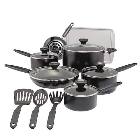 SilverStone Culinary Colors Aluminum 15-Piece Nonstick Cookware Set
