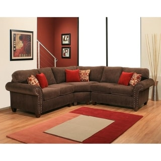 Ebony 3 Piece Sectional by Arely's Furniture Inc.