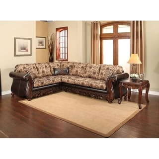 Tuscany 2 Piece Sectional by Arely's Furniture Inc.