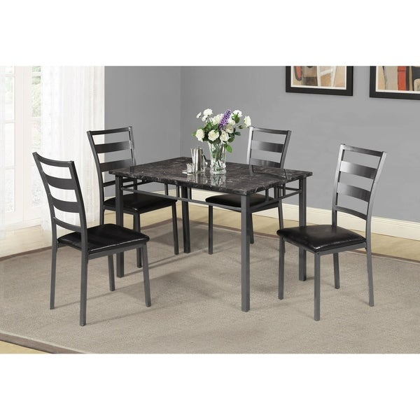 Best Quality Dining Room Furniture: Shop Best Quality Furniture Casual 5-Piece Dining Set, Gun