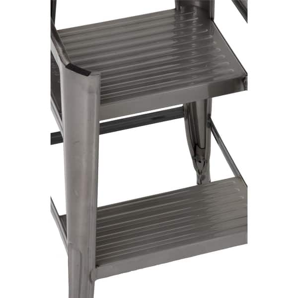 Swell Shop Cosco Luxor Metal 24 Inch Counter Stool With Steps Pabps2019 Chair Design Images Pabps2019Com