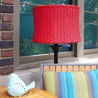 Havenside Home Pocologan 59.5-inch Outdoor and Indoor Basket-weave Floor Lamp