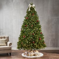9-ft Mixed Spruce Pre-Lit or Unlit Artificial Christmas Tree by Christopher Knight Home