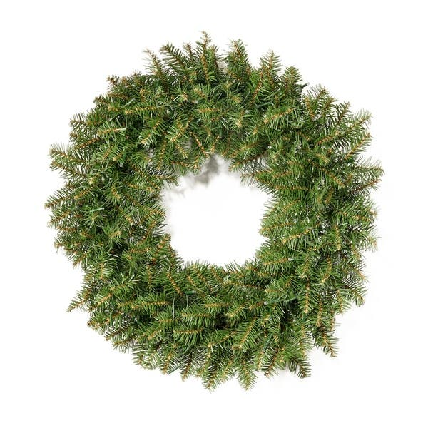 shop 24 fraser fir pre lit warm white led artificial christmas wreath by christopher knight home led clear on sale overstock 23545855 usd