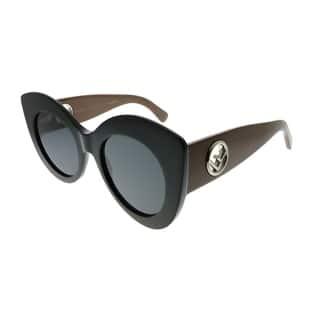58ebee6245bb Fendi Cat-Eye FF 0306 S F Is Fendi R60 IR Women Black Brown Frame