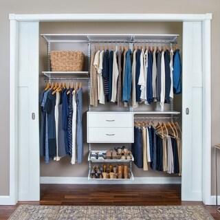 Organized Living FreedomRail Ultimate Adjustable Closet Kit