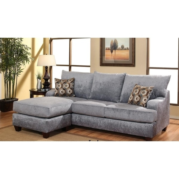 Shop Iris 2 Piece Sofa Chaise by Arely\'s Furniture Inc. - Free ...
