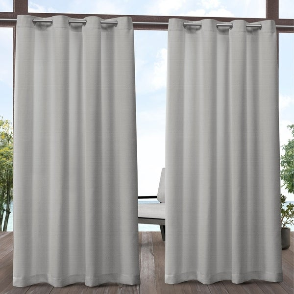 ATI Home Aztec Indoor/Outdoor Grommet Top Curtain Panel Pair. Opens flyout.