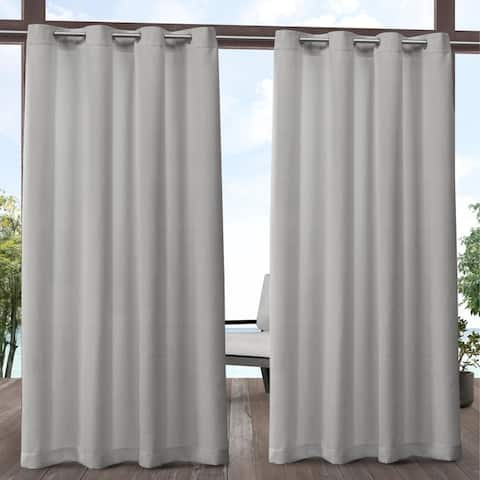 ATI Home Aztec Indoor/Outdoor Grommet Top Curtain Panel Pair