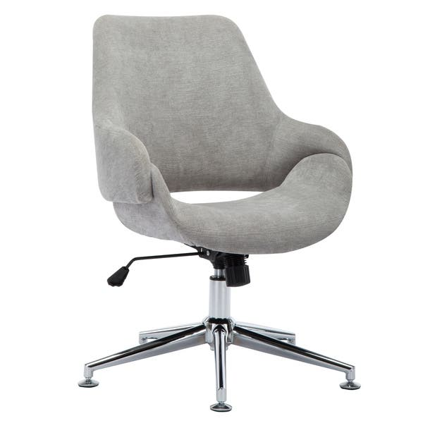 Porthos Home Brice Office Chair Adjustable Height Fabric Upholstery Overstock 23547463