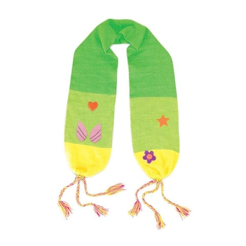 Kidorable Fairy Knit Scarf, Green, One Size For Girls, Acrylic