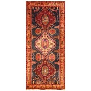 Handmade Herat Oriental Persian Hand-knotted Ardabil Wool Rug (5' x 10'9)