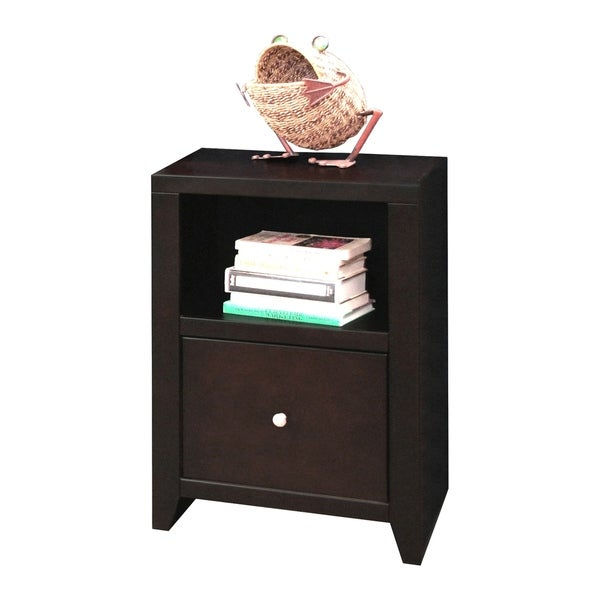Copper Grove Deuil Mocha File Cabinet