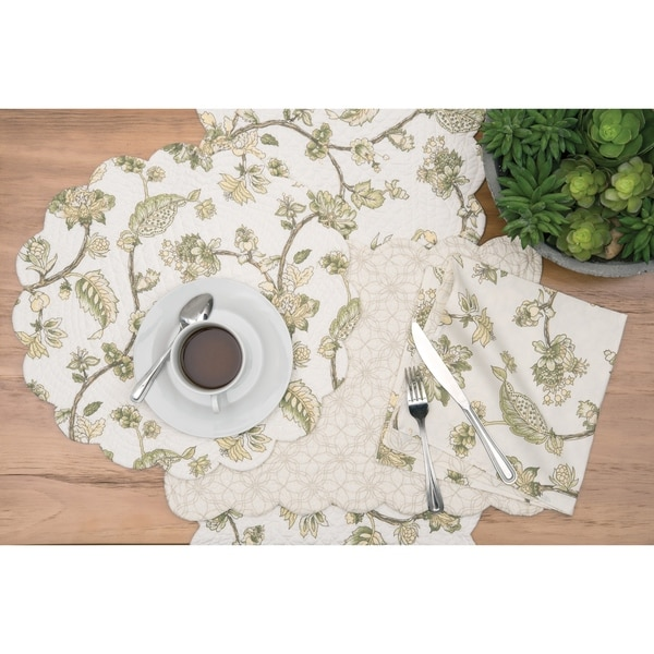 Caia Cotton Quilted Placemat Set of 6