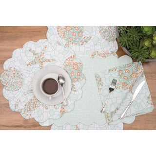 Marilla Coastal Cotton Quilted Placemat Set of 6