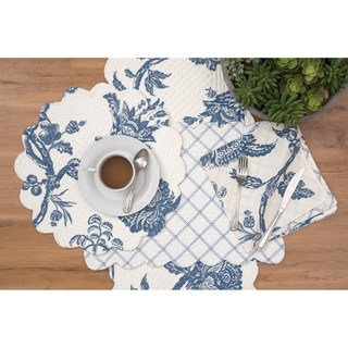 Porter Cotton Quilted Placemat Set of 6