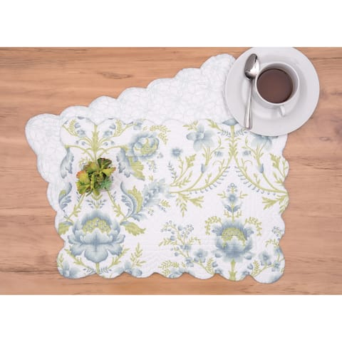 Taja Cotton Quilted Placemat Set of 6