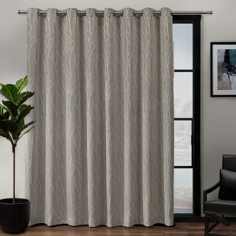 Porch & Den Davis Patio Grommet Top 84-inch x 108-inch Single Curtain Panel