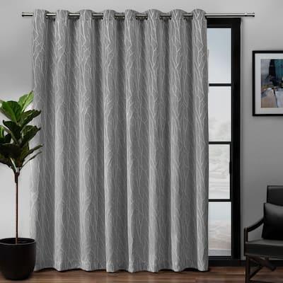 Porch & Den Davis Patio Grommet Top 84-inch x 108-inch Single Curtain Panel - 108x84