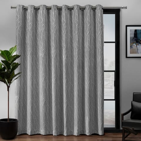Porch & Den Davis Patio Grommet Top 84-inch x 108-inch Single Curtain Panel - 108x84