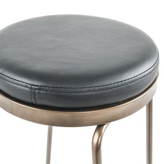 Link to Faux Leather/Metal Counter Stool - Set of 4 Similar Items in Dining Room & Bar Furniture