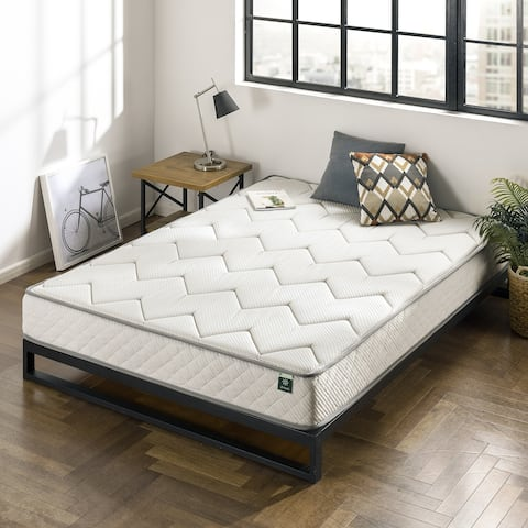 Priage by Zinus 8 inch Charcoal Bonnel Spring Mattress