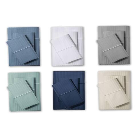 Luxury Deep Pocket 500 Thread Count Egyptian Cotton Bed Sheet Set