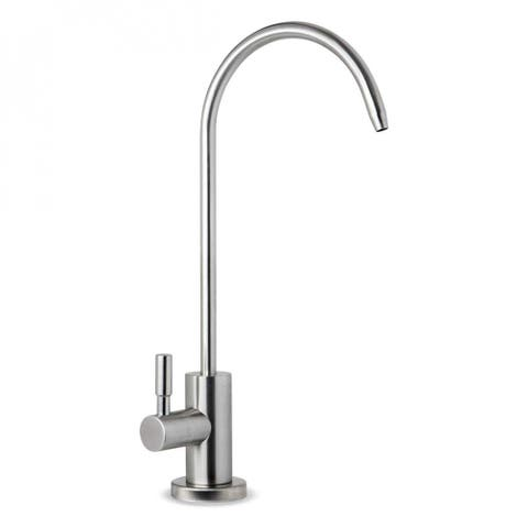 iSpring GA1-SS Stainless Steel Kitchen Bar Sink Reverse Osmosis RO Filtration Drinking Water Faucet - Brushed Nickel
