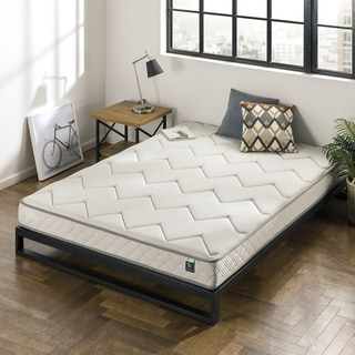 Priage by Zinus 6 Inch Charcoal Bonnel Spring Mattress
