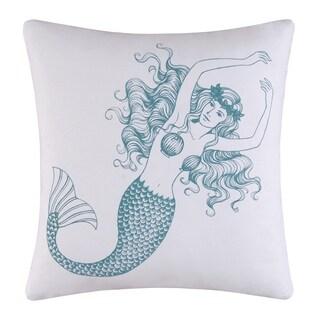 Cora Mermaid High Definition 18 Inch Throw Pillow
