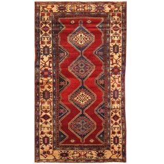 Handmade Nahavand Wool Rug (Iran) - 5' x 9'8