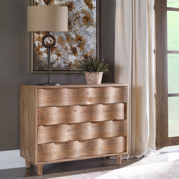 Uttermost Crawford Light Oak Accent Chest. Opens flyout.