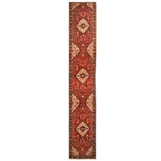 Handmade Lilihan Wool Rug (Iran) - 2'7 x 16'4