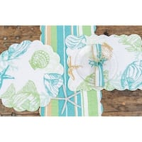 Finley Coastal Cotton Quilted Placemat Set of 6
