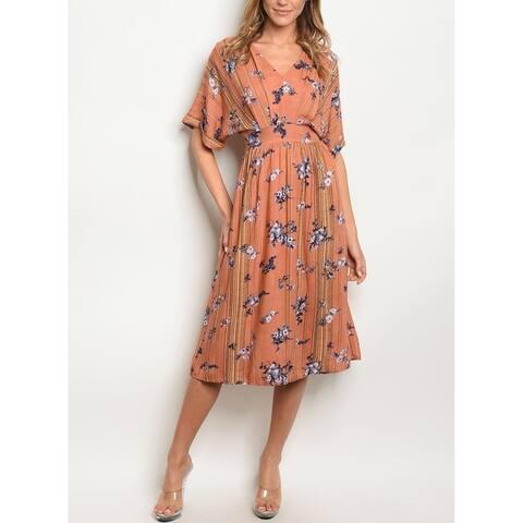 e086ab64ecc Buy Orange Jed Casual Dresses Online at Overstock