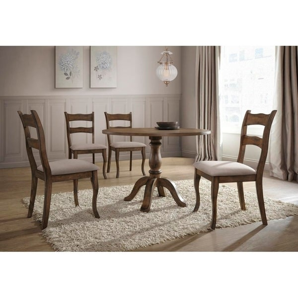Shop Best Master Furniture 5 Pcs Round Dinette Set