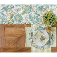Ariana Glade Cotton Quilted Placemat Set of 6