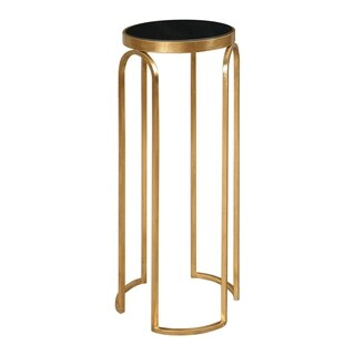 Uttermost Novalie Gold Accent Table